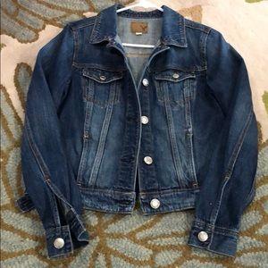 American Eagle ladies denim jacket size medium